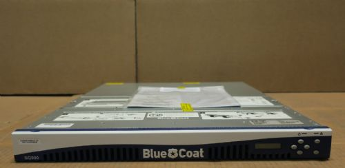 Bluecoat Proxy SG 900 SG900-10B-PR Firewall Appliance 4x Gigabit Port 090-02989